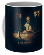 Alien Autopsy Alien Abduction Coffee Mug