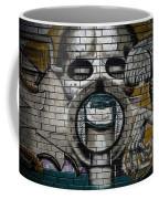 Alien Graffiti Coffee Mug