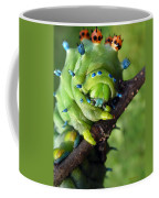 Alien Nature Cecropia Caterpillar Coffee Mug