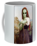 Alien Shepherdess Coffee Mug