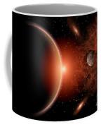 Alien Sunrise On A Distant Alien World Coffee Mug