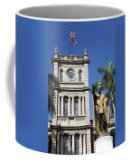 Aliiolani Hale And Kamehameha Coffee Mug