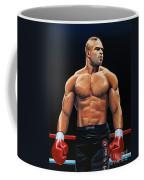 Alistair Overeem Coffee Mug by Paul Meijering