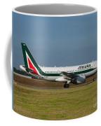 Alitalia Airbus A319 Coffee Mug