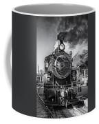 All Aboard Bw Coffee Mug