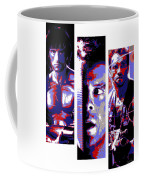 All-american 80's Action Movies Coffee Mug by Dale Loos Jr