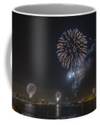 All At Once San Diego Fireworks Coffee Mug