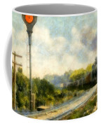 All Clear On The Pere Marquette Railway  Coffee Mug