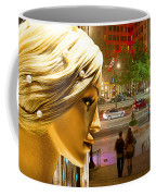 All Dressed Up And No Place To Go Coffee Mug by Chuck Staley