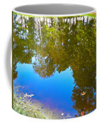 All Pond Treeflections Coffee Mug