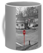 All Way Stop Coffee Mug