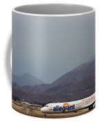 Allegiant At Palm Springs Airport Coffee Mug