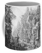 Allegorical Frontispiece Of Rome And Its History From Le Antichita Romane  Coffee Mug by Giovanni Battista Piranesi