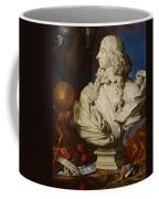 Allegorical Still Life Coffee Mug by Francesco Stringa