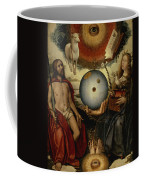 Allegory Of Christianity Oil On Panel Coffee Mug