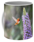 Allen Hummingbird On Flower Coffee Mug