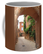 Alley In Roussillion Coffee Mug