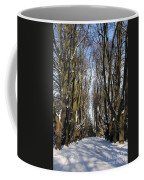Alley In The Snow Coffee Mug