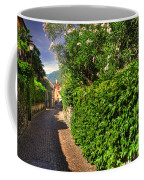 Alley With Green Plants Coffee Mug