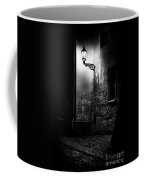 Alley Of Prague In Black And White Coffee Mug