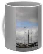 Alliance Charter Schooner Coffee Mug by Teresa Mucha