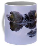 Alligator Eyes On The Foggy Lake Coffee Mug
