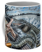 Alligator Hunt Coffee Mug