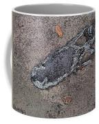 Alligator Skull Fossil 2 Coffee Mug