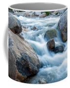 Alluvial Fan Falls On Roaring River Inrocky Mountain National Park Coffee Mug