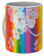 Almond Flowers On Spectrum Coffee Mug