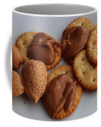 Almonds - Almond Butter - Crackers - Food Coffee Mug
