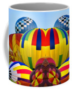 Almost Inflated Hot Air Balloons Mirror Image Coffee Mug
