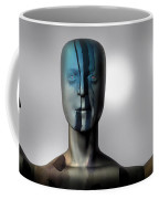 Almost Man In The Middle Coffee Mug by Bob Orsillo