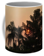 Almosts Gone Now Sunset In Smoky Sky Coffee Mug