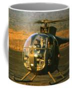 Aloha  Oh-6 Cayuse Light Observation   Helicopter Lz Oasis Vietnam 1968 Coffee Mug