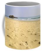Alone At Bolonia Beach Coffee Mug