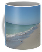 Alone At The Beach Coffee Mug