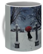 Alone In The Snow Coffee Mug