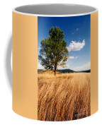 Alone On A Hill Coffee Mug