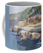 Along Coast Walk In La Jolla, San Diego, California Coffee Mug
