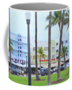 Along Ocean Drive Coffee Mug