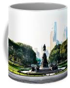 Along The Benjamin Franklin Parkway In Philadelphia Coffee Mug