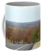 Along The Country Highway 1 Coffee Mug