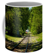 Along The Rails Coffee Mug