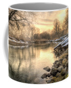 Along The Thames River  Coffee Mug