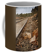 Along The Tracks Coffee Mug