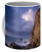 Alpenglow On Wedding Rock Coffee Mug