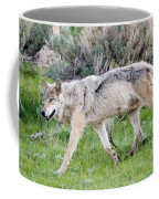 Alpha Wolf On The Move Coffee Mug