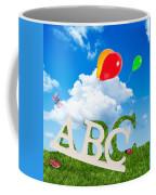 Alphabet Letters Coffee Mug by Amanda Elwell