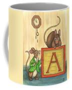 Alphabet Mice Coffee Mug